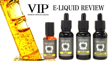 VIP Arcadia Gran Reserve E-Liquid Review