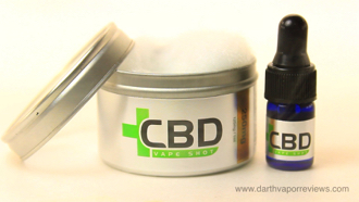 CBD Vape Shot Can and Bottle