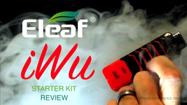 Eleaf iWu Pod Vape System Starter Kit Review