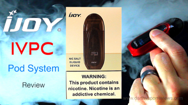 iJoy IVPC Pod Nic Salt Device Starter Kit Review