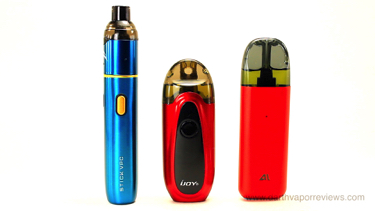 iJoy Pod Devices Comparison
