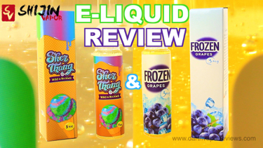 Shijin Vapor Deja Brew E-Liquid Review