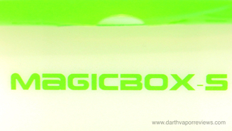 Vangecco Magicbox-S Oil Vaporizer Title