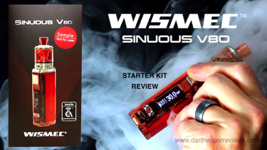 Wismec Sinuous V80 Starter Kit Review