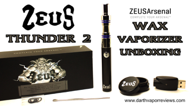 Zeus Thunder 2 Wax Pen Unboxing